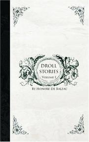 Droll Stories: Volume 1