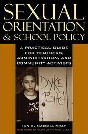Sexual Orientation & School Policy