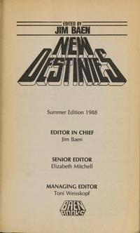 NEW DESTINIES: Vol. IV/ Summer 1988