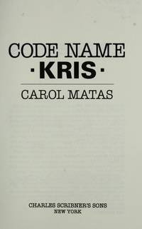 CODE NAME KRIS by Matas - Hardcover - 1990-10-30 - from Stories & Sequels (SKU: 180719-94)
