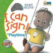 """I Can Sign! """"Playtime"""" [With DVD]"""
