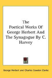 image of The Poetical Works Of George Herbert And The Synagogue By C. Harvey