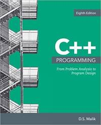 image of C++ Programming: From Problem Analysis to Program Design (MindTap Course List)