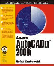 Learn AutoCAD LT 2001 (Wordare Autocad Lt Library)