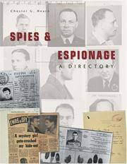 Spies and Espionage, a Directory