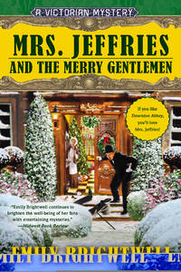 Mrs. Jeffries and the Merry Gentlemen (Victorian Mysteries) by Brightwell, Emily