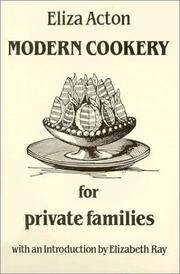 image of Modern Cookery for Private Families (Southover Historic Cookery & Housekeeping) (Southover Press Historic Cookery & Housekeeping)