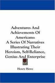 Adventures and Achievements Of Americans