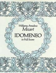 Idomeneo In Full Score
