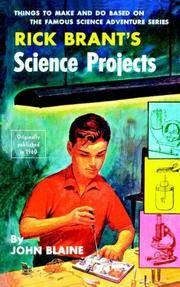 Rick Brant\'s Science Projects