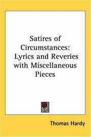 image of Satires of Circumstances: Lyrics and Reveries with Miscellaneous Pieces