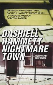 image of Nightmare Town: Twenty long unavailable short stori