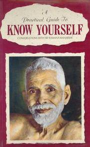 A practical guide to know yourself: Conversations with Sri Ramana Maharshi [Jan 01, 1992] Natarajan