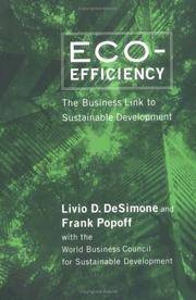 Eco-Efficiency: The Business Link to Sustainable Development