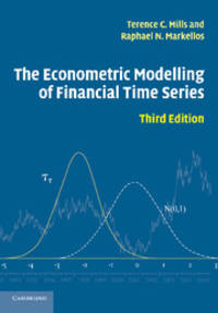 The Econometric Modelling of Financial Time Series by  Terence C Mills - Paperback - from Bonita (SKU: 052171009X.S)