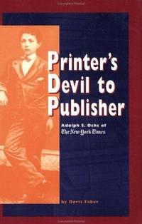 Printer's Devil To Publisher