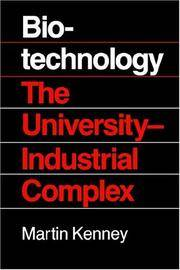 Biotechnology The University Industrial Complex