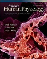 image of Vander's Human Physiology : The Mechanisms of Body Function