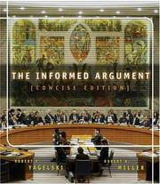 The Informed Argument, Brief Edition (with InfoTrac ) by  Robert Keith Miller Robert P. Yagelski - Paperback - from Better World Books  and Biblio.com