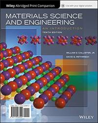 image of Materials Science and Engineering (Book Only)