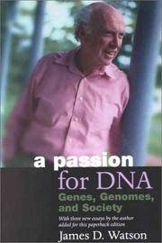 image of A Passion for DNA: Genes, Genomes, and Society (Science & Society)