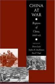 China at War: Regions of China, 1937-45