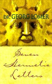 SEVEN HERMETIC LETTERS (translated by Gerhard Hanswille)