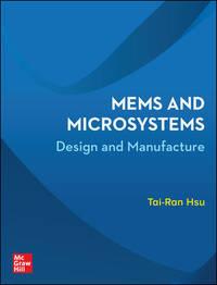 Mems And Microsystems By Hsu Tai Ran