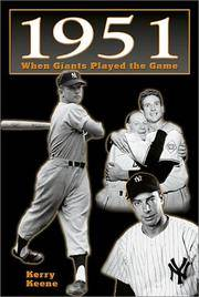 1951: When Giants Played the Game