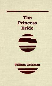 image of Princess Bride: S. Morgenstern's Classic Tale of True Love and High Adventure