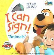 I Can Sign! Animals (Baby Signs (Ideals))