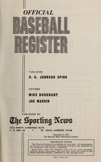 OFFICIAL 1976 BASEBALL REGISTER [wrp title]