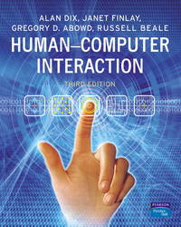 Human-Computer Interaction by  Alan Dix - Hardcover - from Bonita (SKU: 0130461091.X)