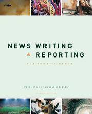 image of News Writing and Reporting for Today's Media