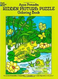 Hidden Picture Puzzle Coloring Book (Dover Children's Activity Books)
