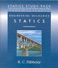 Statics Study Pack for Engineering Mechanics: Statistics (10th Edition) by  Hibbeler Russell C. - Paperback - 2003 - from Your Online Bookstore and Biblio.com