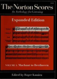The Norton Scores, Volume 1: Machaut to Beethoven (Expanded Edition).