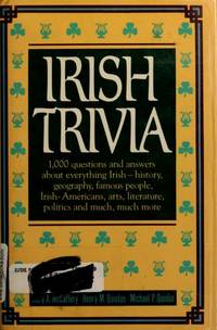 Irish Trivia by  Mary A McCaffery - Hardcover - Reprint - 1989 - from abookshop and Biblio.co.uk
