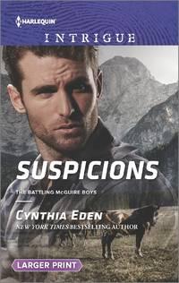 Suspicions: The Battling McGuire Boys (Large Print)