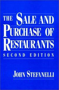 The Sale and Purchase of Restaurants