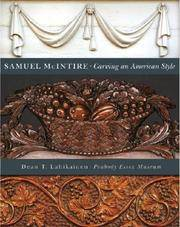 Samuel McIntire : Carving an American Style