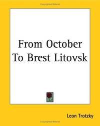 image of From October To Brest Litovsk