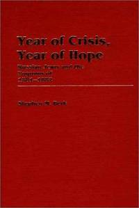 YEAR OF CRISIS, YEAR OF HOPE: RUSSIAN JEWRY AND THE POGROMS OF 1881-1882  (CONTRIBUTIONS IN ETHNIC STUDIES, NUMBER 11)