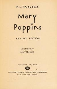 image of Mary Poppins (A Voyager/HBJ book)