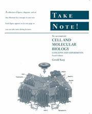 CELL AND MOLECULAR BIOLOGY - TAKE NOTE! by GERALD KARP - Paperback - from indianaabooks and Biblio.com
