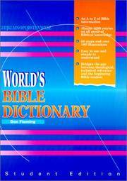 World's Bible Dictionary: Student Edition