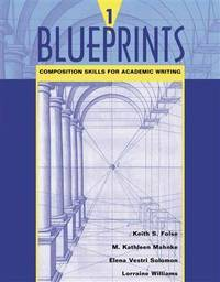 Blueprints 1 Composition Skills for Academic Writing
