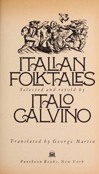 image of Italian Folktales (Pantheon Fairy Tale_Folklore Library)