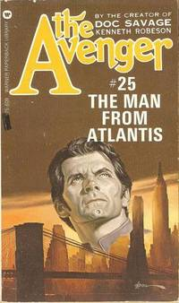 image of The Avenger - #25 & # 12 - The Man From Atlantis And The Flame Breathers  (2 Books)