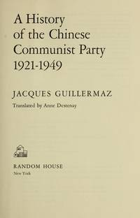 History of the Chinese Communist Party